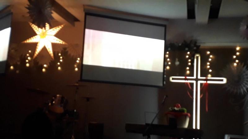 Семейный Праздник Рождества( Церковь Возрождение Набережные Челны)