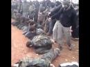 18+ Сирия Расстрел боевиками пленных солдат в деревне Кесаб