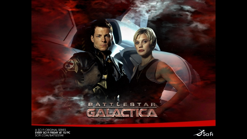 Звездный крейсер Галактика/Battlestar Galactica 4-й сезон ( фантастика, боевик, драма, приключения, сериал 2004 – 2009 гг.)