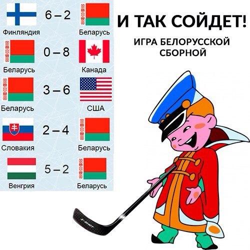 Хоккейно-белорусское