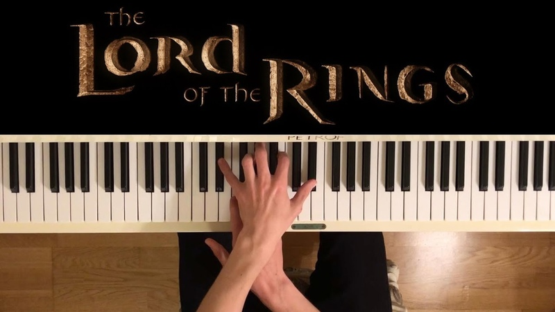 The Lord of the Rings theme - Piano Medley ( sheets)