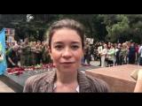 Бессмертный полк, кажется, в этом году будет рекордным!!!! Здесь очень много крымчан, передает Марина Патрина.