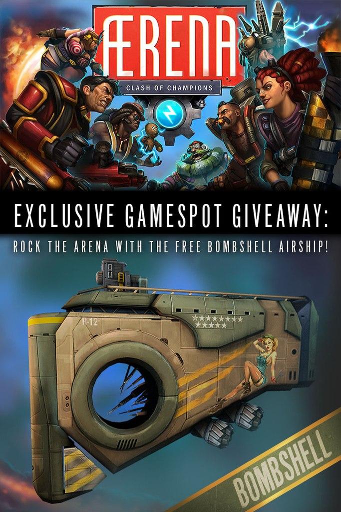 ÆRENA: Clash of Champions Exclusive Bombshell Giveaway. Получаем эксклюзивное DLC на халяву!