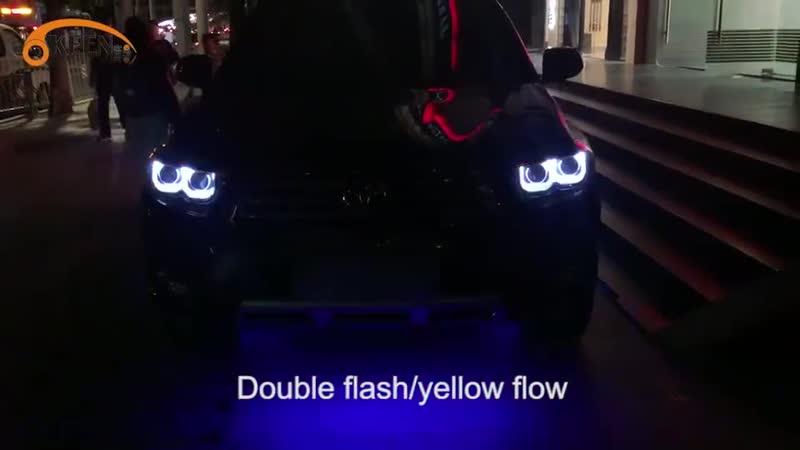 Светодиодный ходовые огни на машину🔦👍🏻 Алиэкспресс