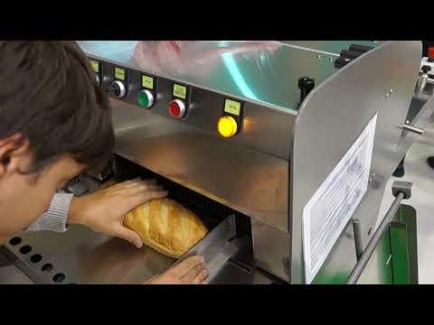 Хлеборезательная машина Агро-Слайсер 21 на выставке Агропродмаш - 2018