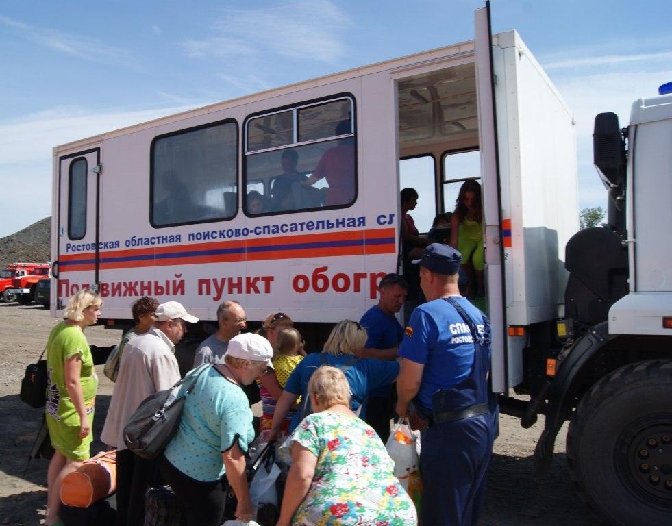 В Ростовской области развернут новый палаточный городок для украинских беженцев на 500 мест