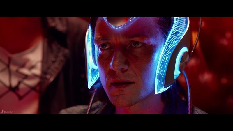Charles Locates Magneto Cerebro Scene X Men Apocalypse 2016