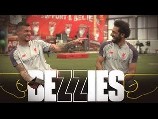 Bezzies with Salah Bezzies with Salah & Lovren | 'Sometimes I give him chocolate to keep him calm'