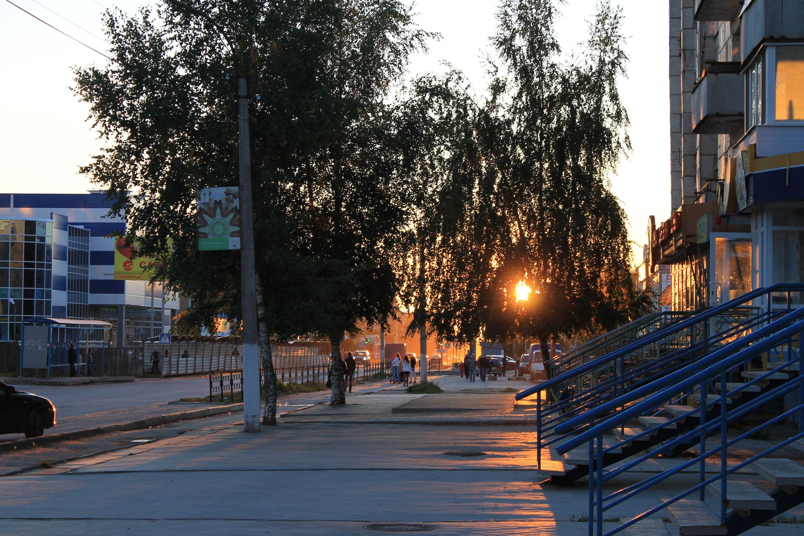 Спокойной ночи, Соликамск!