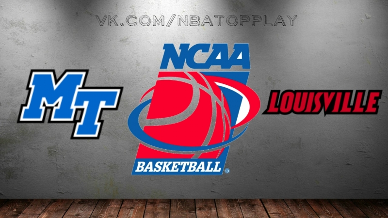 Middle Tennessee Blue Raiders vs Louisville Cardinals | 18.03.2018 | NIT | 2nd Round | NCAAM 2018