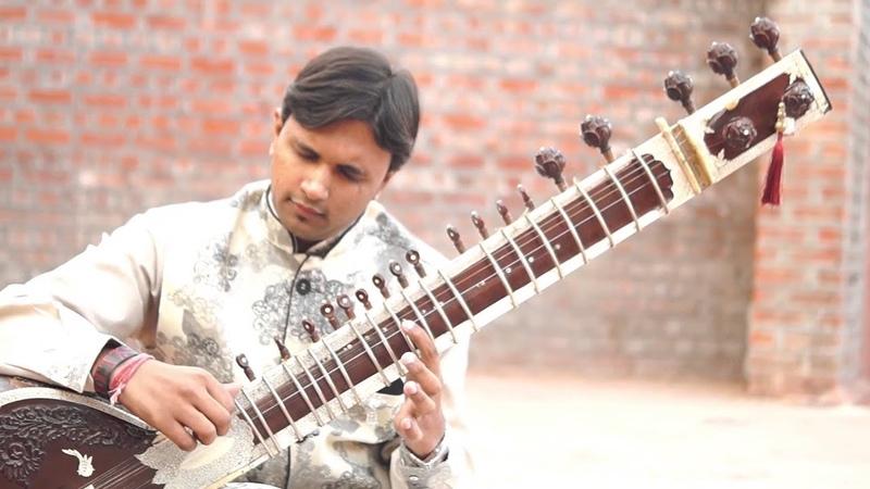 Tere Liye - Valentine's day special song on Sitar by Bhagirath Bhatt