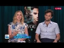 The Twisted Love Story of YOU with Penn Badgley and Elizabeth Lail