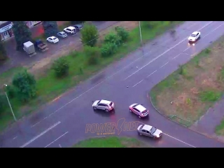 ДТП (авария г. Волжский) ул. Пушкина ул. Химиков 26-07-2018 19-34
