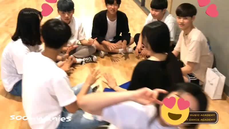 PREDEBUT Чхве Сухван и Кан Минхи Starship ent Plug In Music And Joy Dance Academy