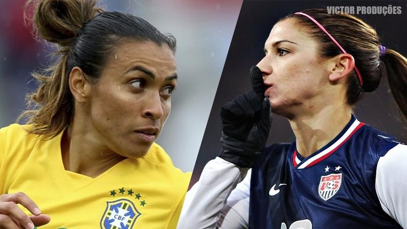 Dribles Lances Mágicos Do Futebol Feminino || HD