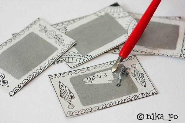 лотерейные билеты своими руками образец - фото 10