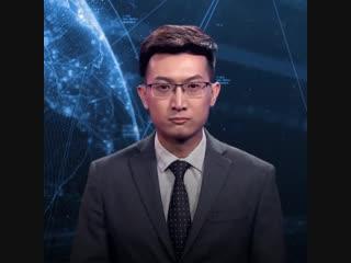 Первый робот-телеведущий с искусственным интеллектом