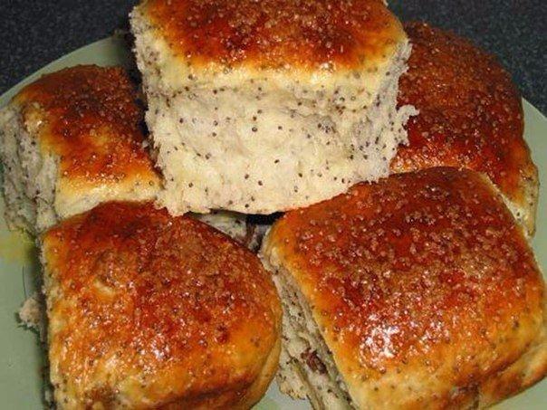 ТОП-6 вкусных булочек к чаю 1) Булочки Ингредиенты: ●