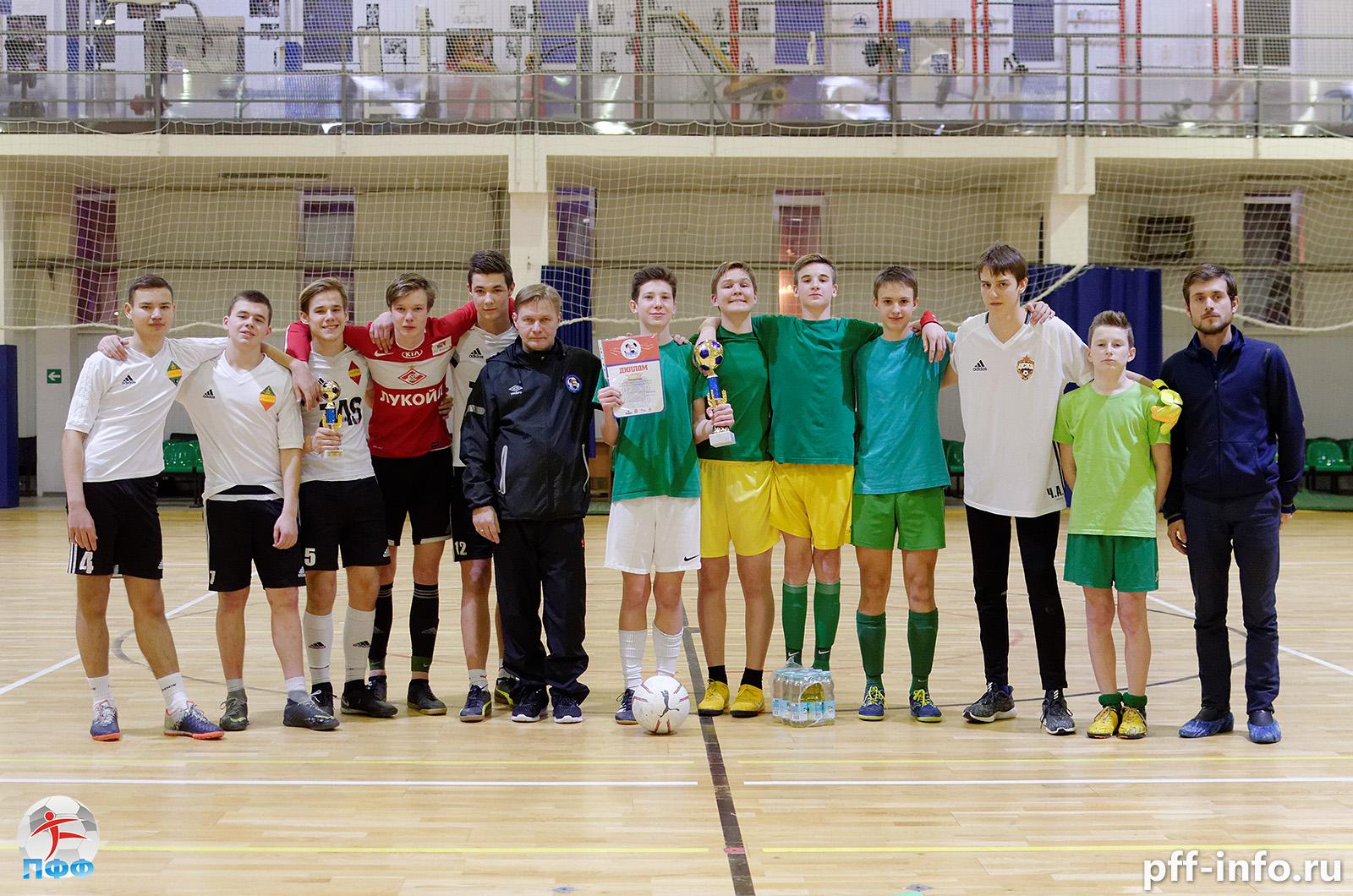 Сезон юношеского ТДК стартовал с Кубка Подольска по мини-футболу U16