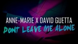 Anne-Marie X David Guetta - Don't Leave Me Alone #Yakushko Drum Cover