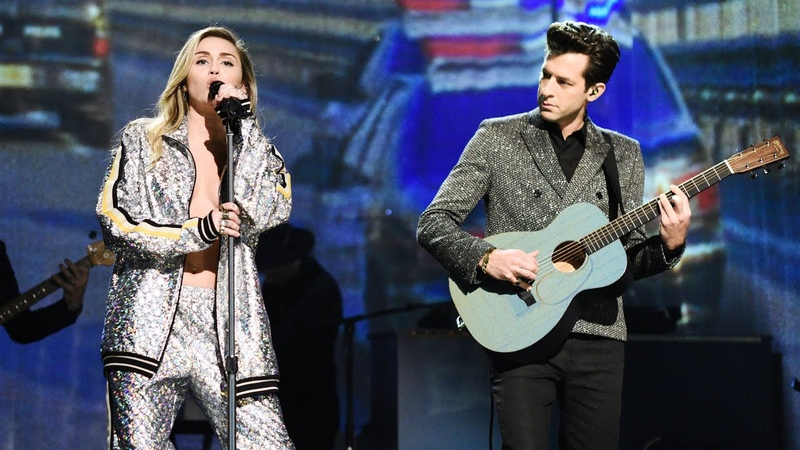 Mark Ronson and Miley Cyrus: Nothing Breaks Like a Heart (Live)