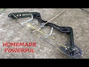 Making a Full Size Compound Bow Aluminum Riser Powerful