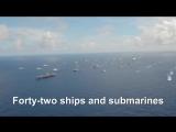 ВМС США - судно Крейсерская В образовании В RIMPAC 2014 [1080]