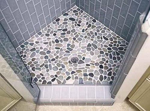 Напольная плитка для ванной своими руками