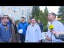 Тренери та гравці національної збірної відвідали Харківський госпіталь