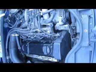 раскоксовка двигателя водой 1.6 AHL