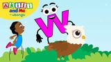 Meet Letter W! Learn the Alphabet with Akili Cartoons from Africa for Preschoolers