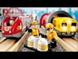 BRIO - Детские Железные дороги (из дерева)