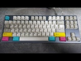 LZ-CLS CHERRY MX VINTAGE CLEAR SWITCHES TYPING SOUNDS