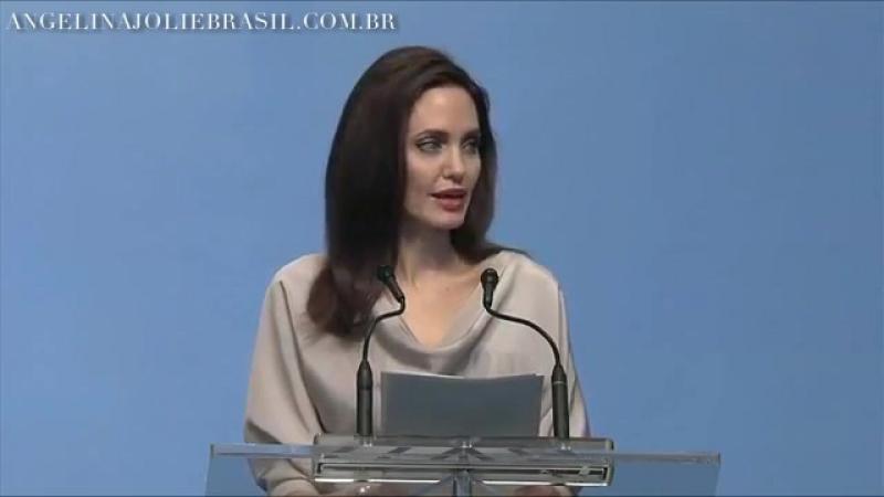 Речь Анджелины на Конференции министров обороны Мира