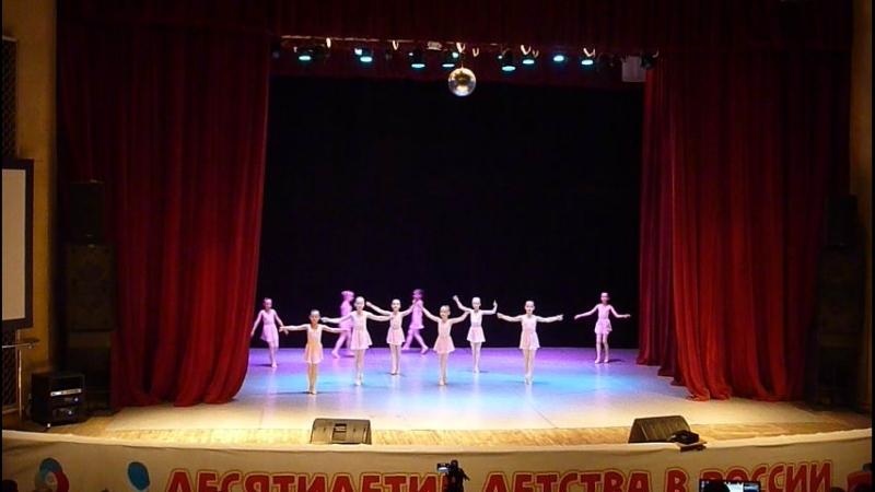 Из отчётного концерта Детского Образцового Театра танца Плясицы, ДШИ Форте. Первые Па.
