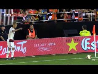 Keisuke Hondra TWO shocking corner kicks | Valencia vs AC Milan | Pre-Season Friendly, 2014 HD