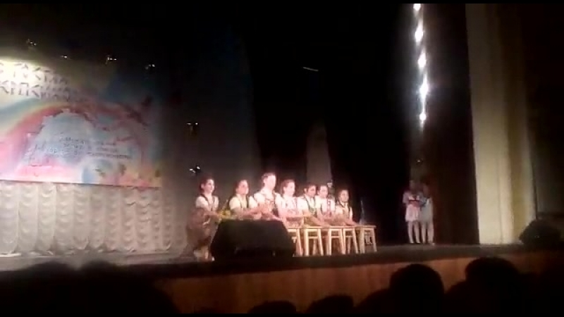 хореографический ансамбль Серпантин с танцем Улетай