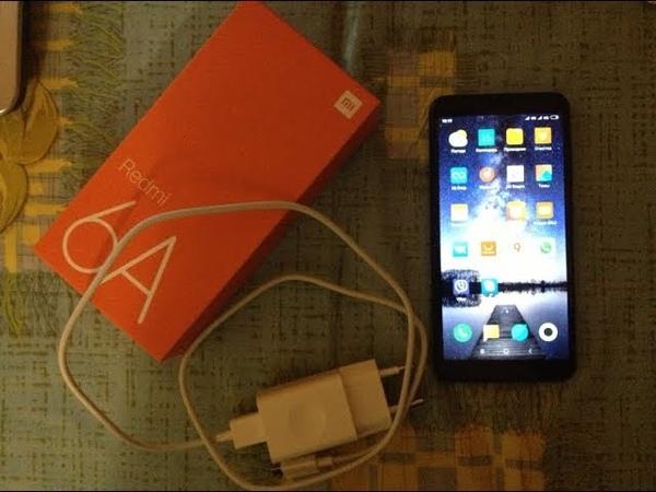Смартфон Xiaomi Redmi 6A с AliExpress Распаковка Демонстрация работы