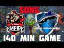 VEGA SQUADRON vs TEAM EMPIRE 140 min GAME SONG 2 игра финала виннеров СНГ квал