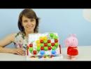 Свинка Пеппа и Цветная Мозаика Развивающее видео для детей Играем и Учим Цвета Peppa Pig
