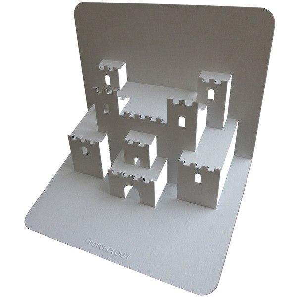 Как сделать объёмный замок