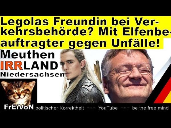 Legolas Freundin bei Verkehrsbehörde in Niedersachsen? Elfenbeauftragte gegen Unfälle auf A2!