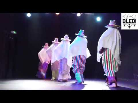 Troupe Kif-Kif Bledi : danses Jabalia et Chaabi (Maroc) @Shaabi boat 2018