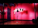 How to Do a USPDF Pro Compulsory Spinning Pole | Pole Dancing Exercises