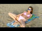 Маша Галактика - Гимнастика Йога на пляже