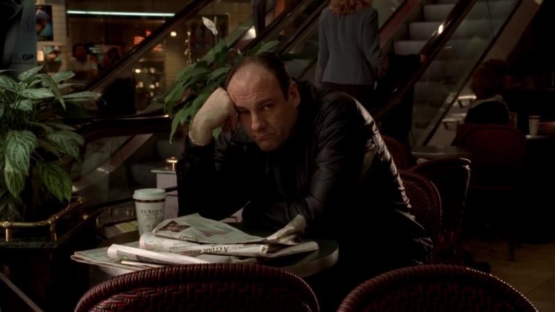 Клан Сопрано S04E08 01 Тони переделегировал исполнение приказов и теперь ему нехуем заняться