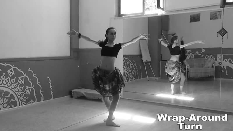 ATS® Slow Moves: Wrap-Around Turn \ АТС-словарь @ dance vocabulary