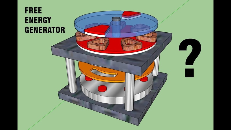 Free Energy Generator Guess The Patent name and Inventor