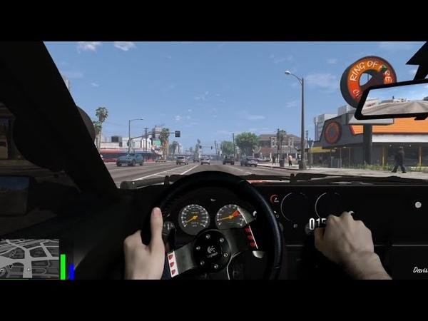 Вождение в GTA 5 как в РЕАЛЬНОЙ ЖИЗНИ
