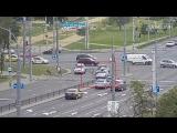 ДТП В Бресте: велосипедист влетел в лобовое стекло автомобиля